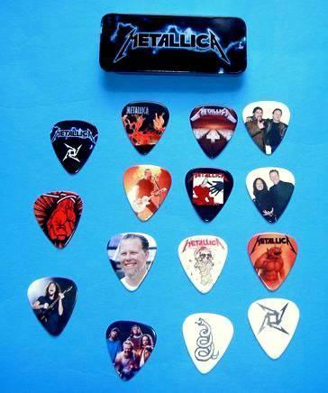 Set of 20 AC//DC Guitar Pick Quality Gift Tin